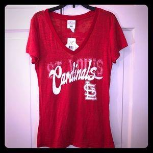 BNWT 4 For $20.00 Cardinals red t-shirt women's
